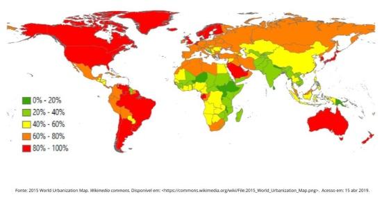 Estudo da população pelos mapas