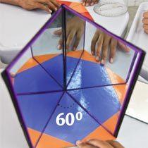 Livro de espelhos e regiões triangulares. Foto: Canindé Soares