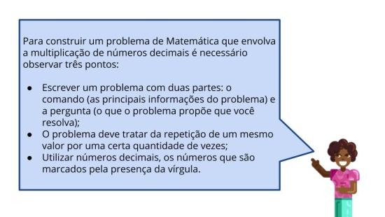 Elaboração de problemas de multiplicação de números racionais