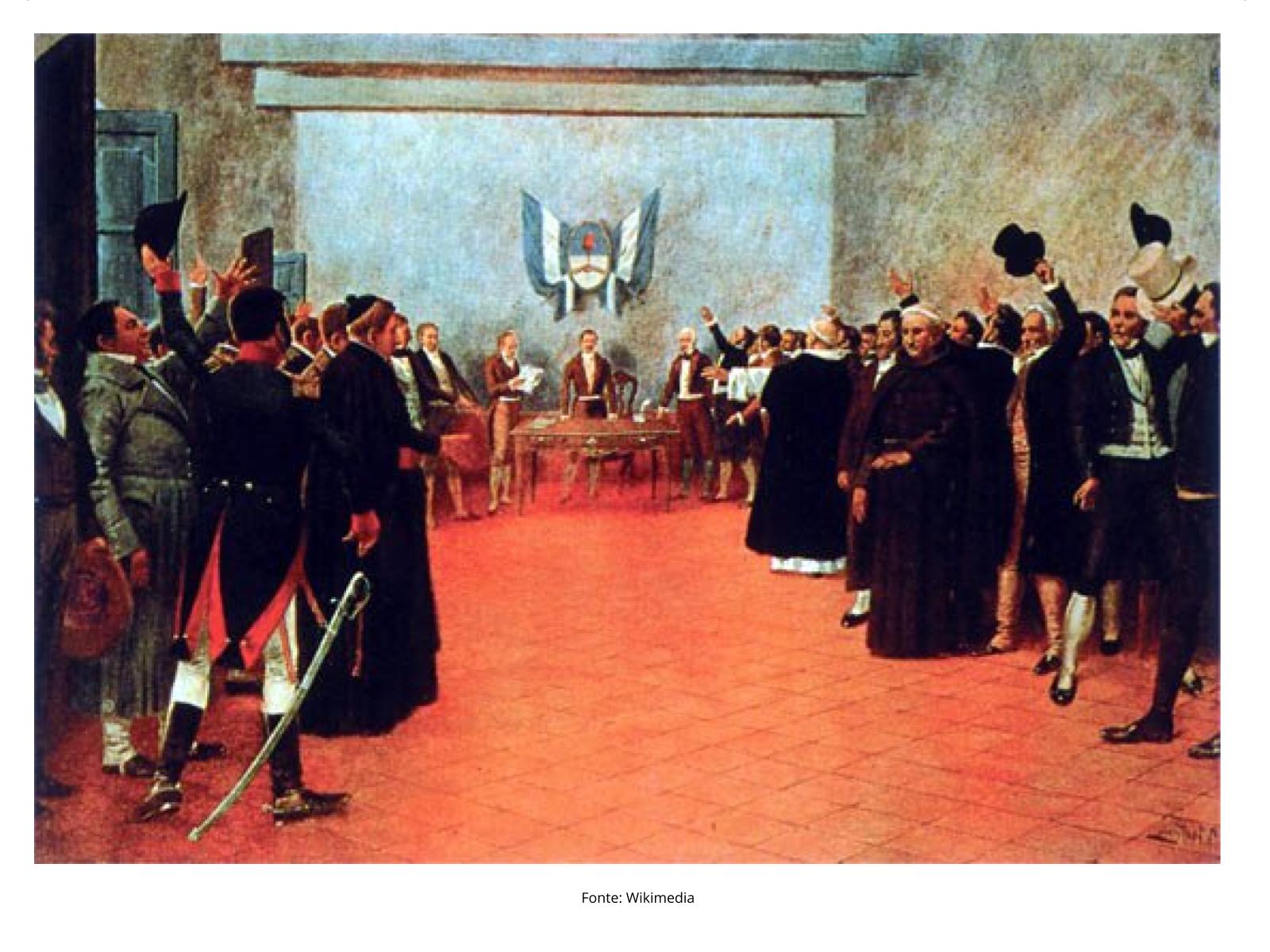 A Independência da Argentina:  os grupos sociais envolvidos