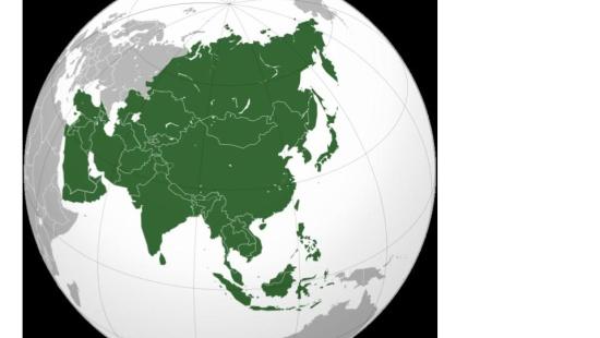 A grande diversidade do quadro natural da Ásia