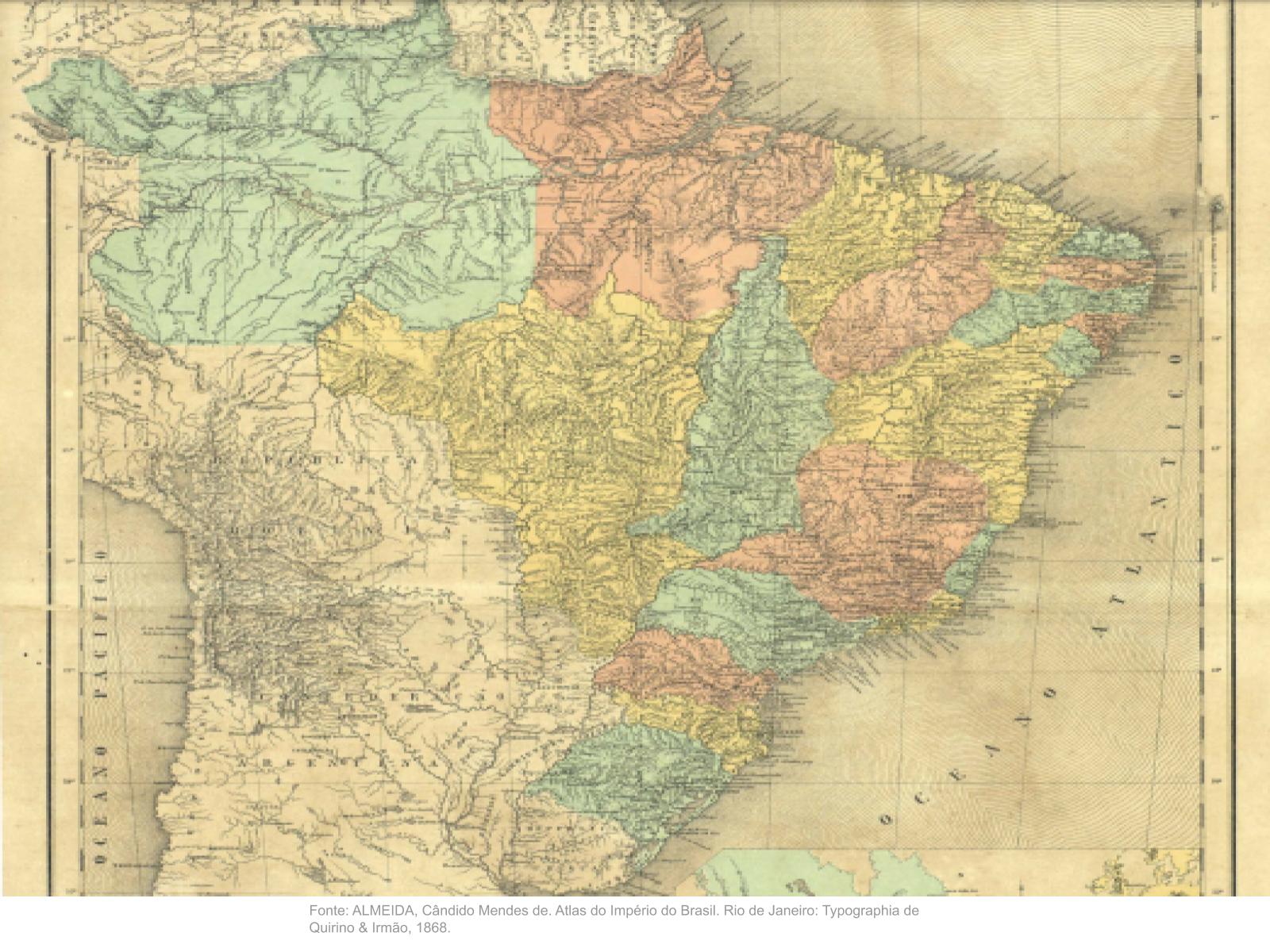 Províncias e estados: transformações na fronteiras internas no Brasil no século XIX