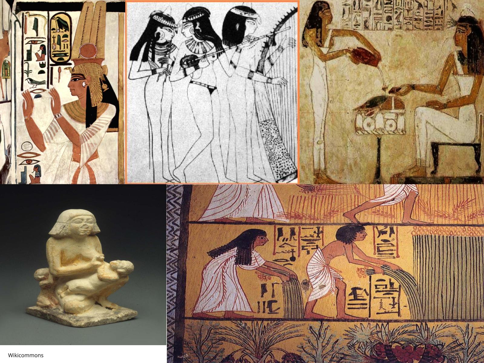 As mulheres no Egito  e na Mesopotâmia