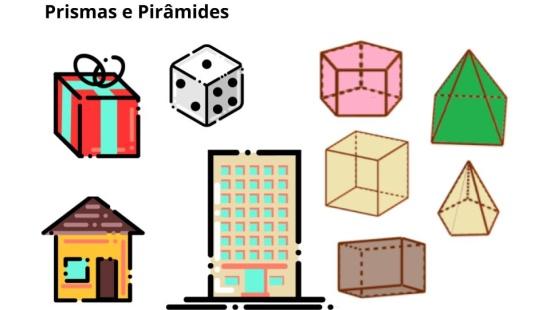 Investigando  prismas e pirâmides