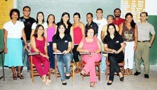 Membros do Conselho Municipal e Escolar formado por funcionários da Secretária da Educação, diretores, coordenadores e professores de Icatu-MA