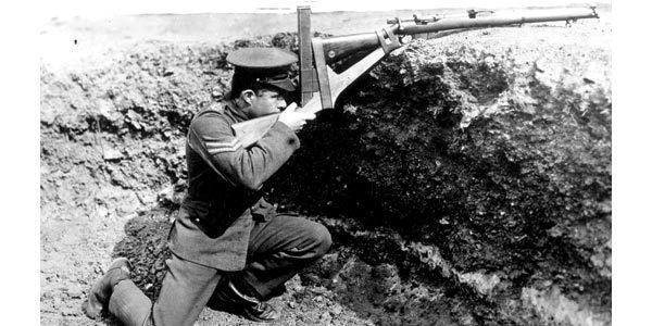 TRINCHEIRAS Recurso usado nos confrontos da Primeira Guerra e depois abolido. Foto: Hulton Collection/Getty Images
