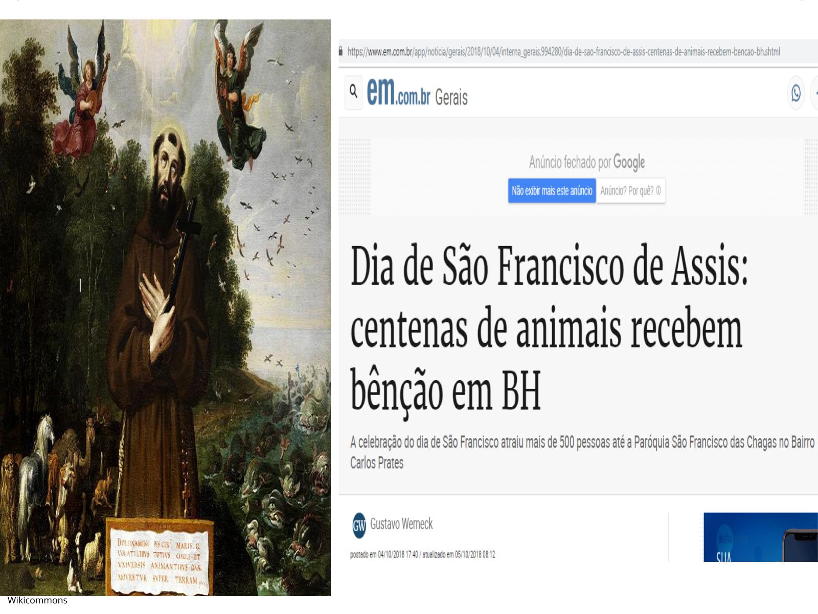 São Francisco de Assis e as  ordens mendicantes