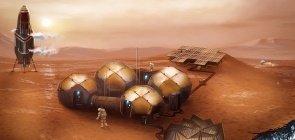 Infográfico: como seria viver em Marte?