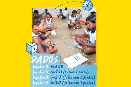 Dados. Foto Janduari Simões. Ilustrações Bruno Algarve