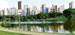 Vista do Parque Vaca Brava em Goiânia