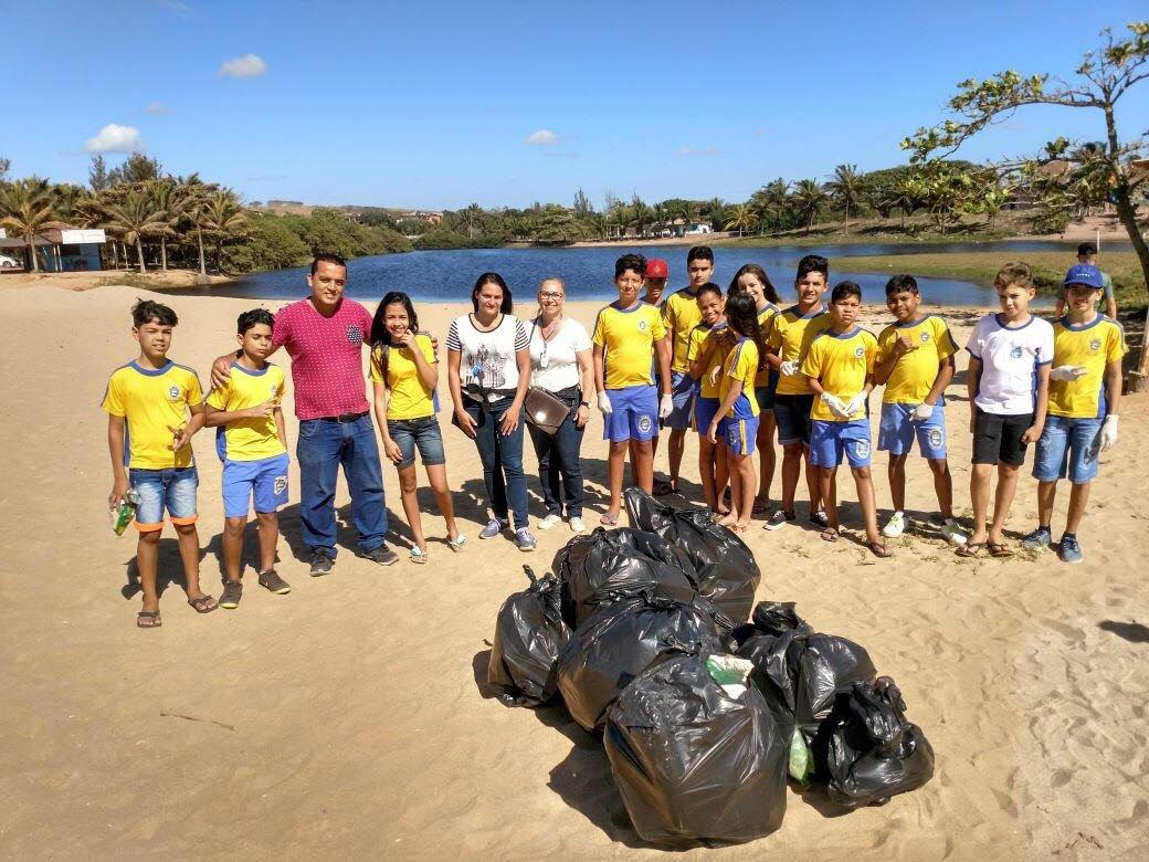 Projeto dos alunos da EMEIEF Boa Vista do Sul, em Marataízes-ES, que envolveu toda a comunidade