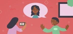Sugestão de Atividade: grave uma videobiografia em Inglês