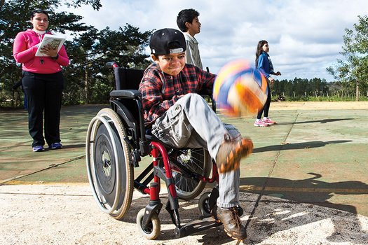 Como adaptar a forma de análise para mensurar o aprendizado do aluno com deficiência. Foto: Tamires Kopp