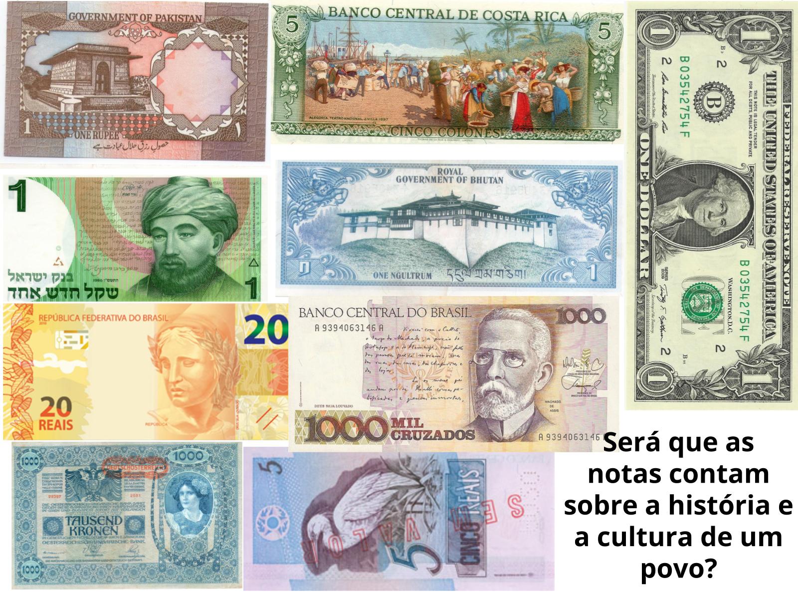 As diferentes moedas de troca ao longo do tempo