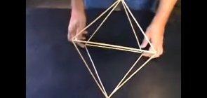 Construindo estruturas de poliedros com varetas