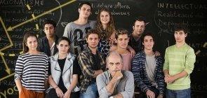 Merlí, série da Netflix, que se passa em uma escola catalã
