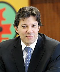 Fernando Haddad, Ministro da Educação. Foto: Herminio Oliveira