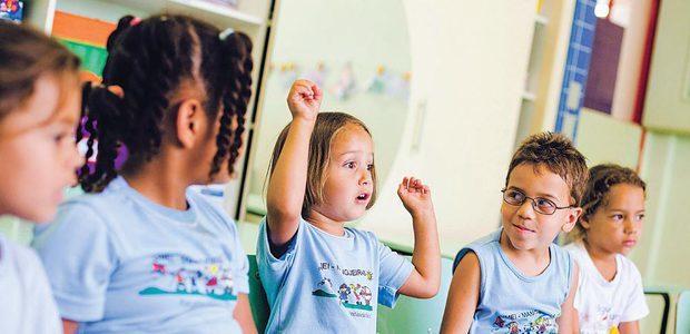 Planejar um trabalho sistemático que estimule a prática da linguagem oral pelas crianças favorece o seu desenvolvimento. Foto: Leo Drumond