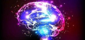Ilustração das conexões do cérebro