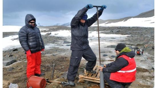 Recursos naturais do continente antártico