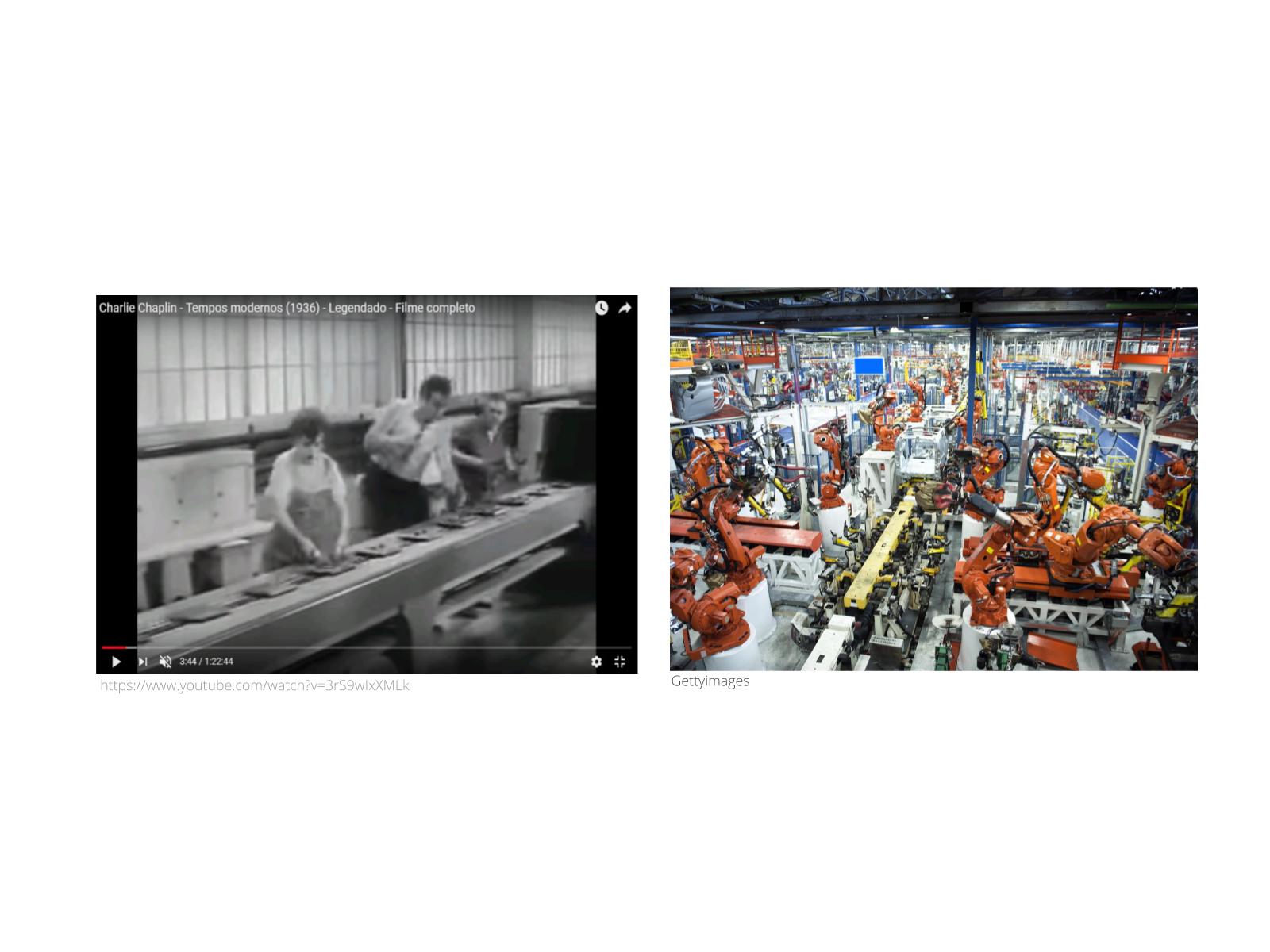 Linhas de montagem automatizadas