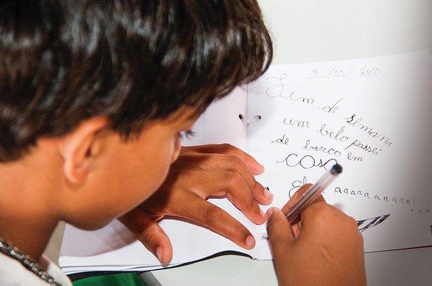 No diário, Glawber registra a ansiedade e a alegria pelo reencontro com familiares. André Menezes