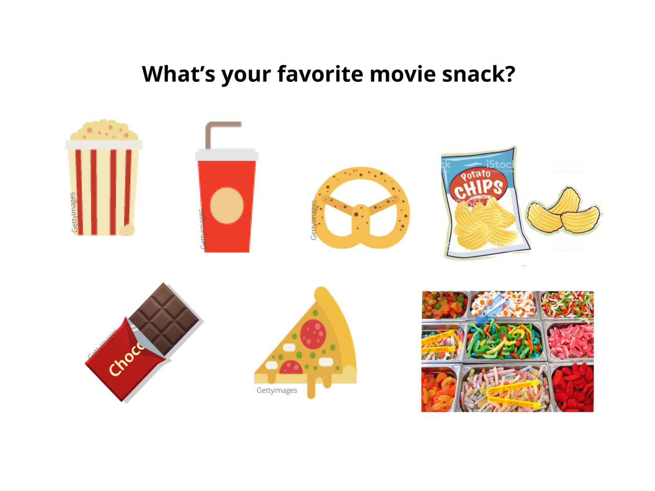 Movie Theater Concession Stand