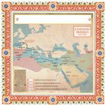 Mapa: Adriana Komura. Expansão islâmica