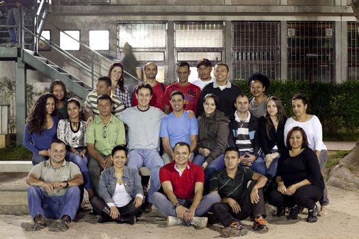 Essa é a turma do segmento da EJA que corresponde ao 8º ano do Colégio Santa Cruz, na capital paulista. Com as aulas de Ciências do professor Felipe Bandoni de Oliveira eles ampliaram seus conhecimentos sobre a Lua.