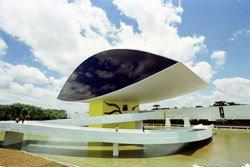 Museu Oscar Niemeyer - PR. Foto: Divulgação