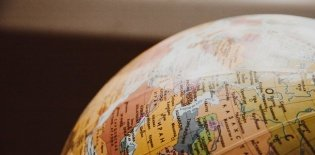 Globo mapa mundi geografia