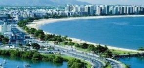 Cidade de Vitória, capital do Espírito Santo