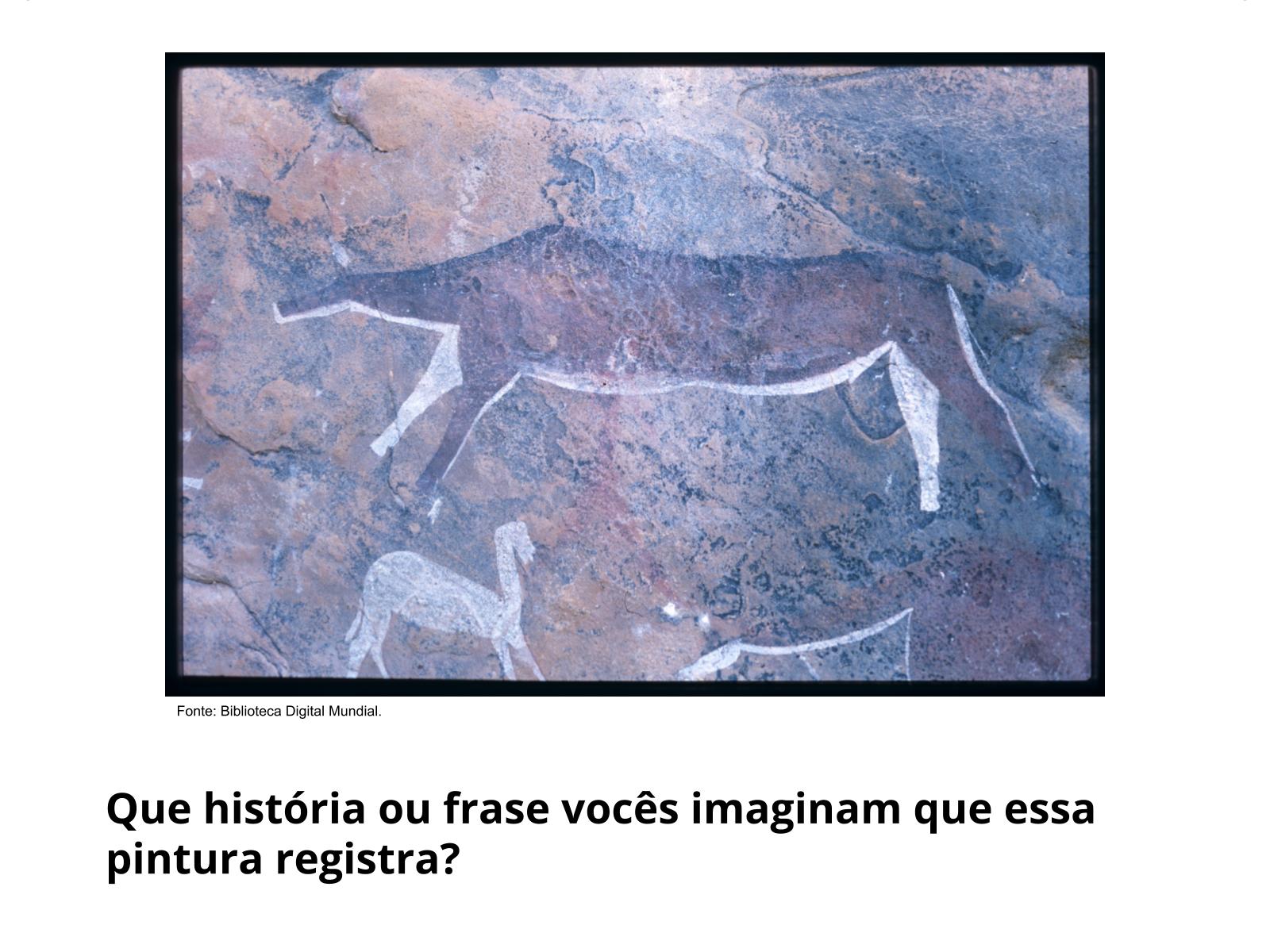 Pinturas rupestres e geoglifos: os registros mudando o jeito de viver dos seres humanos