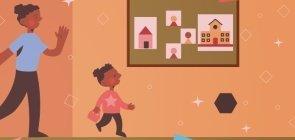 Incorpore a higiene em brincadeiras ao acolher as crianças e familiares