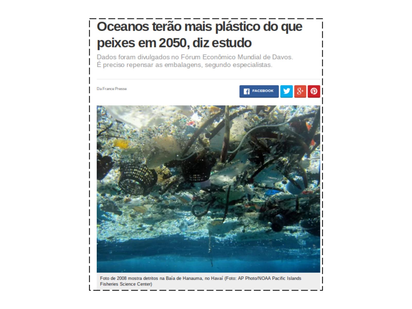 Como substituir o uso de plástico comum?