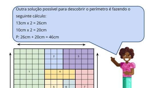 Perímetro e área na malha quadriculada