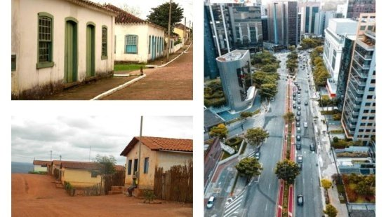 A indústria e a transformação no espaço urbano.