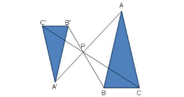 ilustração do plano de aula de matemática sobre geometria das transformações