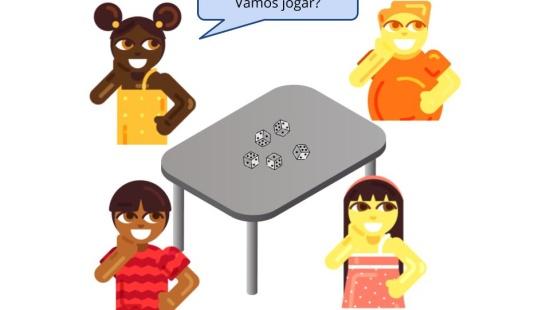 """Fatos fundamentais da multiplicação  com o jogo """"Dados a Mil!"""""""