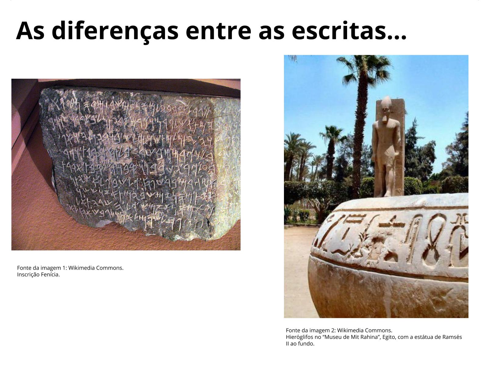 Escrita com alfabeto: marco na história da humanidade