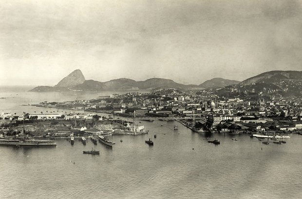 Ilha das Cobras   Crédito: Fotógrafo não identificado/ Coleção Gilberto Ferrez/ Acervo Instituto Moreira Salles