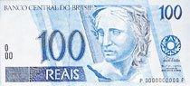 Uma nota de 100 reais