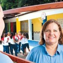Ao ouvir a opinião da comunidade, Márcia, de Fortaleza, fortaleceu a sua gestão. Foto: Drawlio Joca