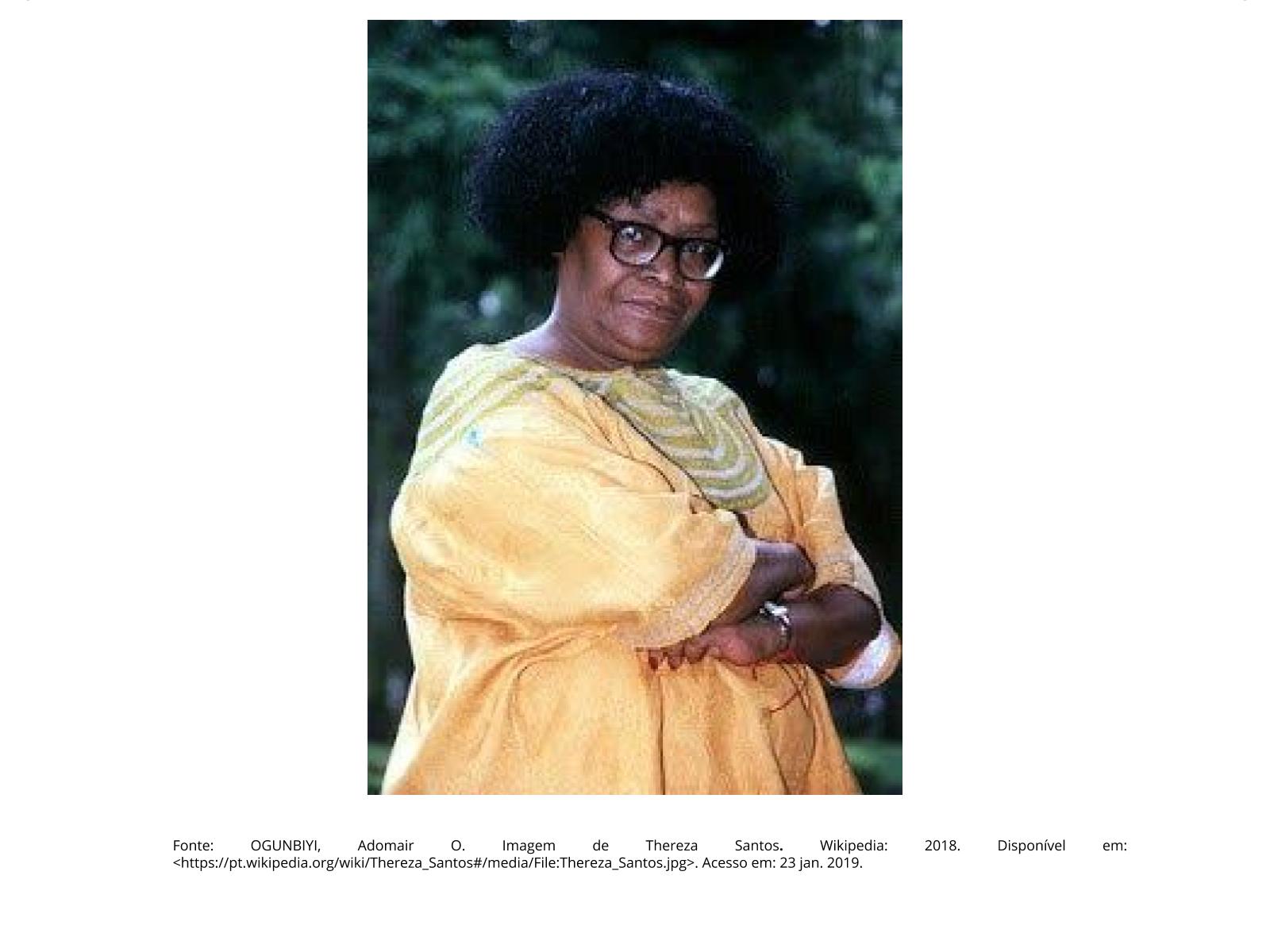 Mulheres negras, militância e resistência: Thereza Santos