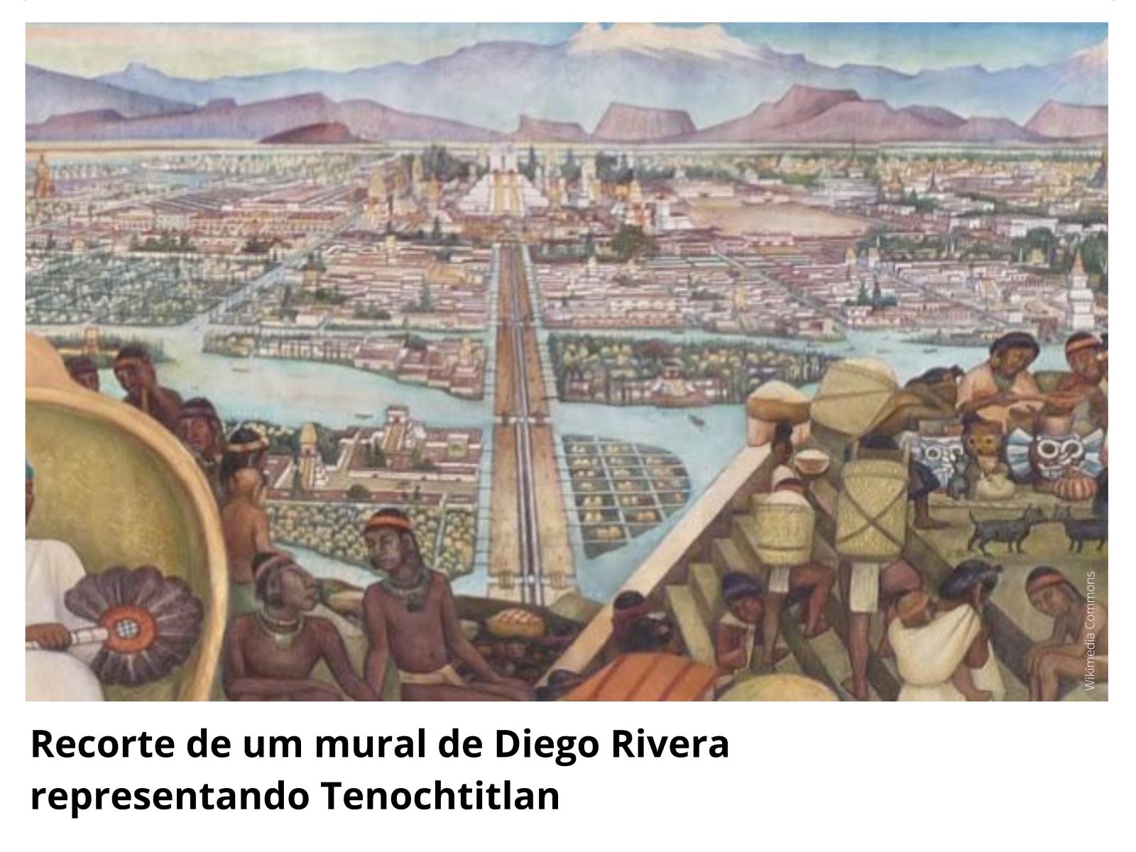 As chinampas e como os astecas tinham uma agricultura desenvolvida