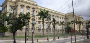 Fachada do Instituto Benjamin Constant, no Rio de Janeiro
