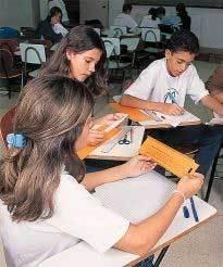 Cada um constrói sua régua: contas resolvidas sem lápis nem papel . Foto: Guga Abreu
