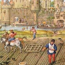 Ilustração do século 15. Italian School/Getty Images