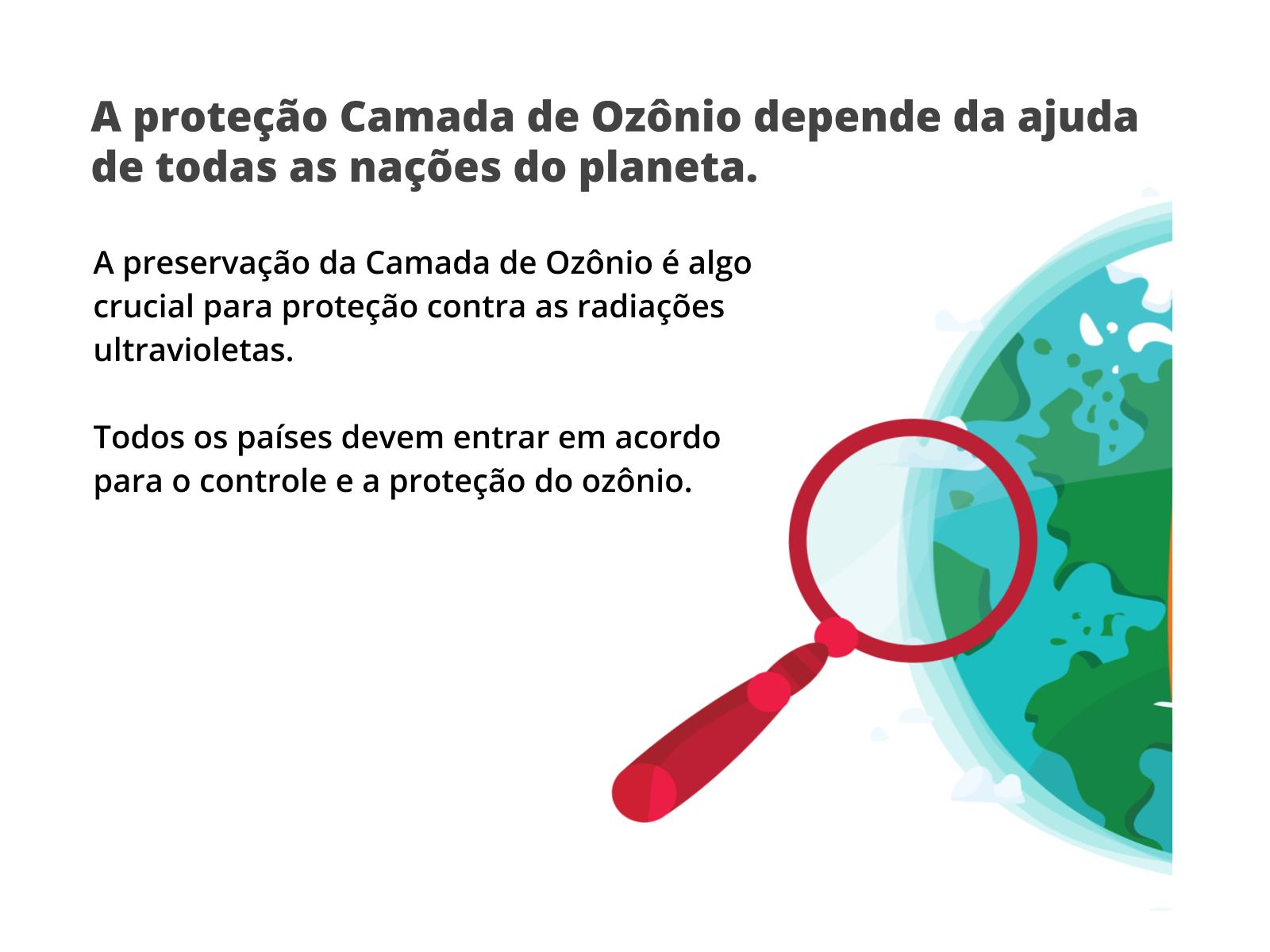 Acordo entre Nações para proteção da Camada de Ozônio