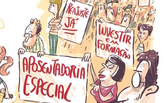 Contra represálias, uma greve de guerrilha